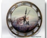 Часы Охота на щуку