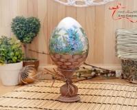 Готовимся к Пасхе! Декор декоративных яиц в 2-х стилях