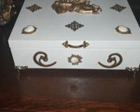 Чайная коробка Ангел