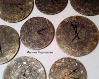 Часы Орнамент