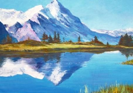 Приглашение на 3 Урок Онлайн - курса по живописи маслом «Искусство пейзажа в деталях»