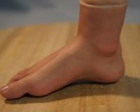 Кукольные ноги из полимерной глины, два варианта