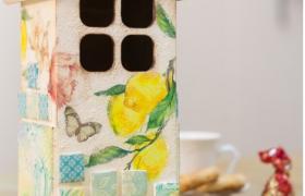 Чайный домик с изразцами