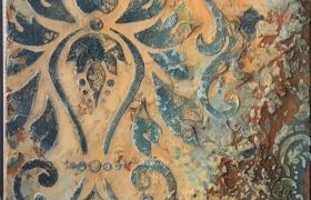 Дамаск. Интерьерное панно: онлайн курс по декору с поддержкой.