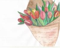 Букет тюльпанов-МК с Ольгой Швецовой