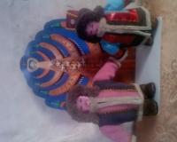 куклы по якутскому эпосу \