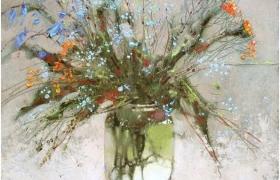 """""""Цветочное настроение"""". Декупаж и живопись на одном уроке. Факультатив №1 Летней Школы"""
