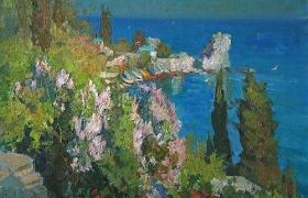 Крымский пейзаж в Гурзуфе