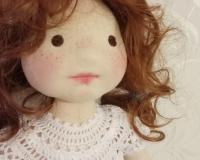 Текстильная кукла Нюша