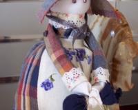 авторская кукла по мотивам народной куклы