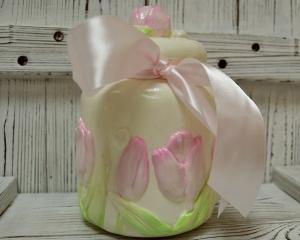 Художественная лепка. «Букет тюльпанов»
