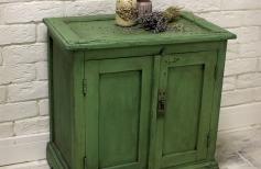 Тумба. Перекраска старой мебели