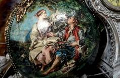 Интерьерный шар с Венецианским Бетоном