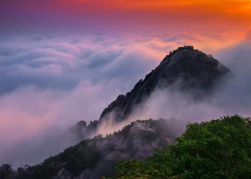 Облако окутывающее гору. Приглашение на курс