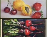 Овощи и фрукты в технике \