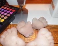 Изготовление рук интерьерной куклы