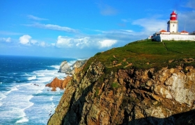 Путешествие по Европе - Португалия - мыс Рока