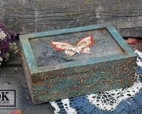 Чайная шкатулка «Бабочка»