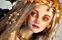 Духи Земли: Лепим лицо Дриады