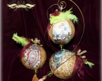 Новогодний интерьерный шар «ORIENTAL» (ВОСТОЧНЫЙ)
