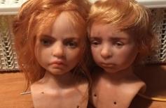 Кукольный детский образ. Будуарная кукла. 3 занятие