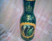 ваза с элюстрацией сказа П.Божова