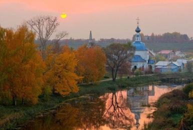 Осенний пейзаж. 1 сеанс