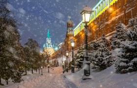 Огни Московского Кремля