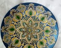 Тарелка декоративная Шахиризада и Элиф