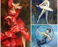 Комплект из трех мастер-классов по женским образам