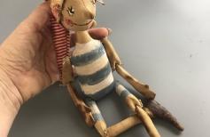 Буратинчик. Тонированная кукла - \