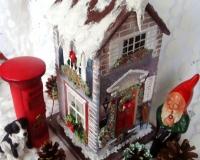 Рождественский чайный домик