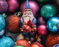 Елочная игрушка Санта Клаус