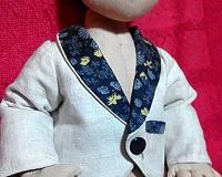 Пиджачок для куклы или мишки