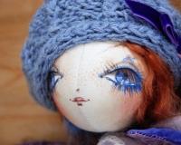 Онлайн- курс по авторской кукле \